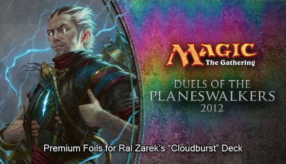 """Magic 2012 Foil Conversion """"Cloudburst"""" (DLC)"""