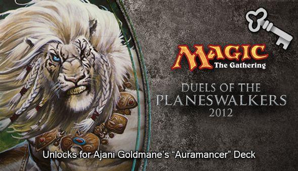 """Magic 2012 Full Deck """"Auramancer"""" (DLC)"""