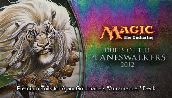 """Magic 2012 Foil Conversion """"Auramancer"""" (DLC)"""