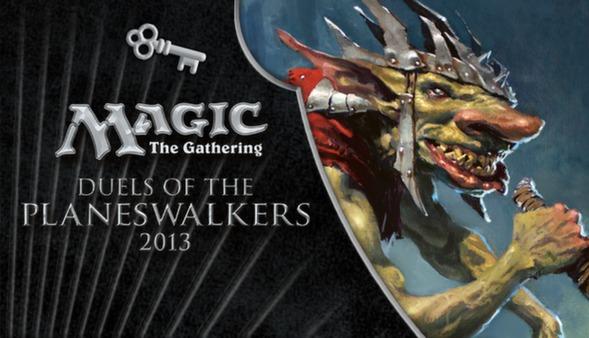 """Magic 2013 """"Goblin Gangland"""" Deck Key  (DLC)"""