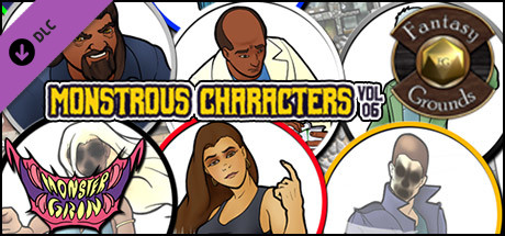 Fantasy Grounds - Monstrous Characters, Volume 6 (Token Pack)
