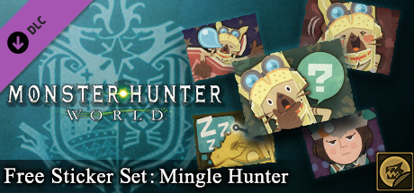Monster Hunter: World - Free Sticker Set: Mingle Hunter
