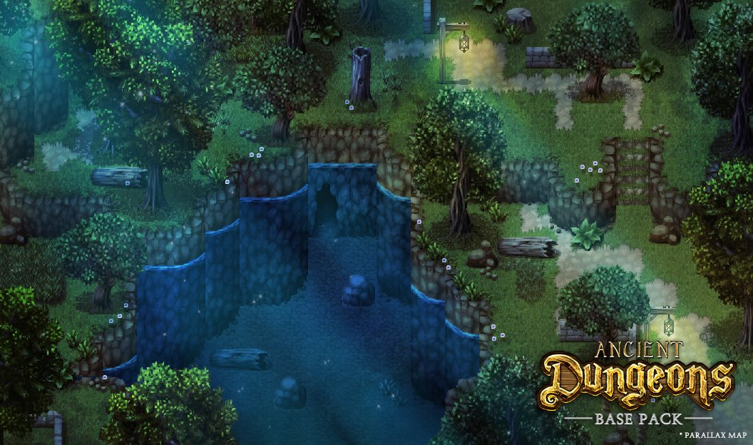 RPG Maker MV - Ancient Dungeons: Base Pack Steam Discovery