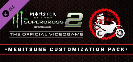Monster Energy Supercross 2 - Megitsune Customization Pack