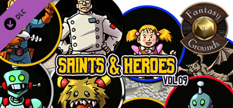 Fantasy Grounds - Saints and Heroes, Volume 9 (Token Pack)