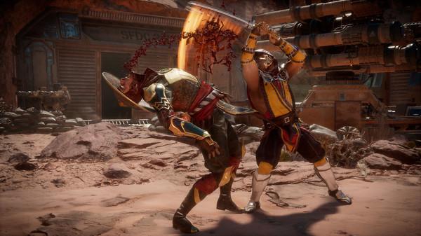 скриншот Mortal Kombat 11 0