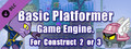 Basic Platformer Game Engine For Construct 2 and 3