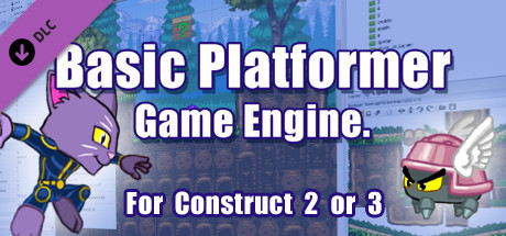 Basic Platformer Game Engine For Construct 2 and 3