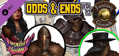 Fantasy Grounds - Odds and Ends, Volume 12 (Token Pack)