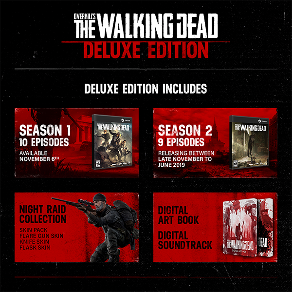 Compare Overkills The Walking Dead Deluxe Edition PC CD Key Code Prices & Buy 76