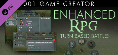 001 Game Creator - Enhanced RPG (Turn-Based Battles)