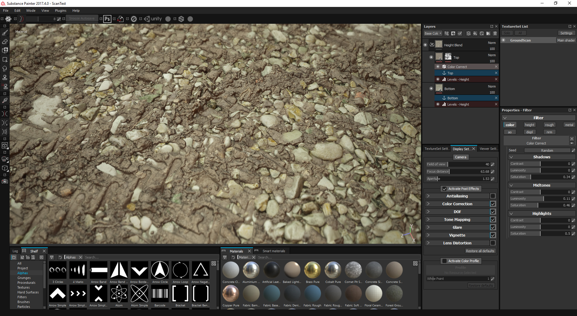 substance painter download materials