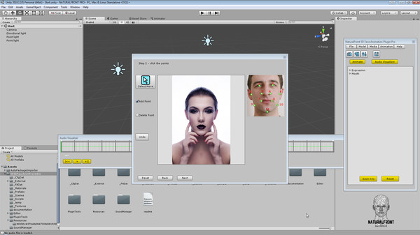 NaturalFront 3D Face Animation Unity Plugin Pro