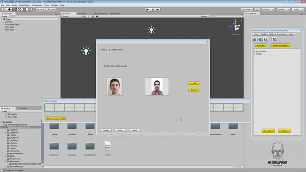 NaturalFront 3D Face Animation Unity Plugin Pro