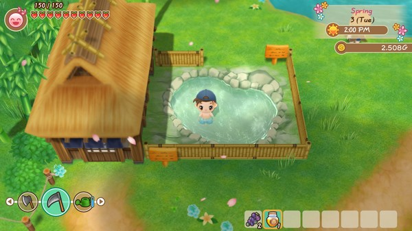 STORY OF SEASONS Friends of Mineral Town-PLAZA [CRACK]