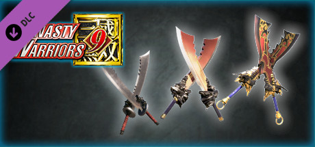 """DYNASTY WARRIORS 9: Additional Weapon """"Inferno Voulge"""" / 追加武器「火塵双刀」"""