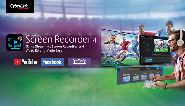 Cyberlink Screen Recorder 4 - Record your games, RPG, car