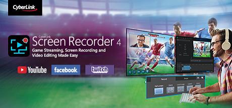 CyberLink Screen Recorder 4 Deluxe cover art