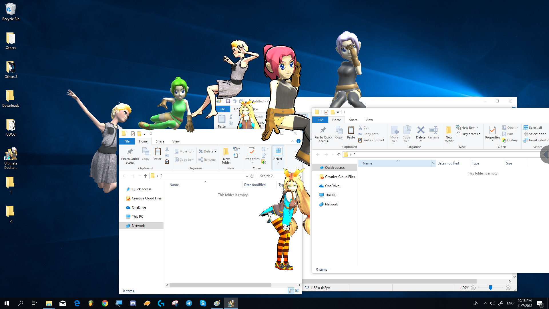 Ultimate Desktop Character Engine