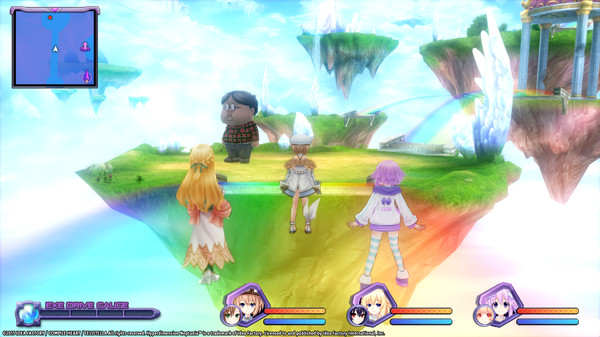 Hyperdimension Neptunia Re;Birth1 Giant Island Dungeon / 巨人アイランド / 巨人島 (DLC)