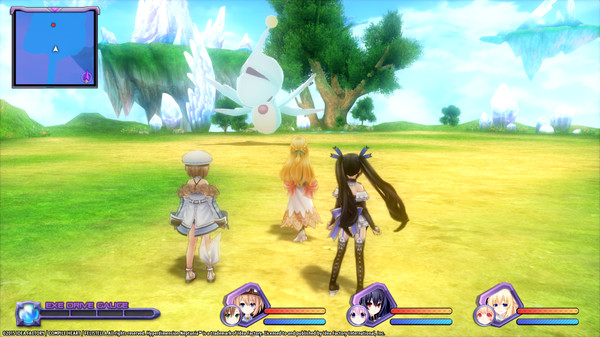 Hyperdimension Neptunia Re;Birth1 Giant Island Dungeon (DLC)