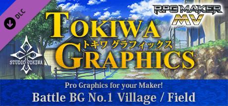 RPG Maker MV - TOKIWA GRAPHICS Battle BG No.1 Village/Field