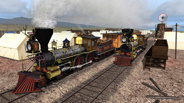 Train Simulator: UPRR Idaho & Omaha Steam Loco Add-On (DLC)