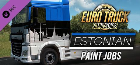 Euro Truck Simulator 2 - Estonian Paint Jobs Pack