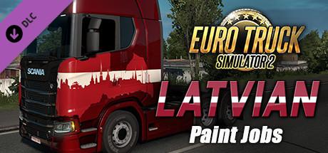Euro Truck Simulator 2 - Latvian Paint Jobs Pack