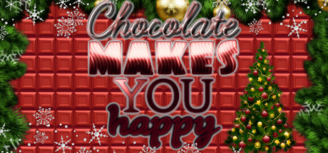 chocolate makes you happy new year casual colorful physical puzzle with sweets jumpers teleports accelerators reverse gravity traps treadmills