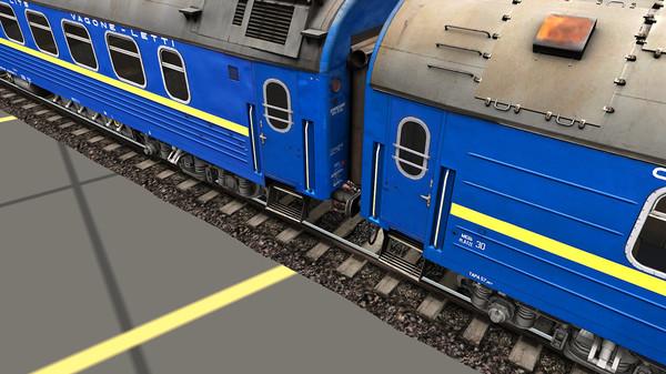Trainz 2019 DLC - RZD-UZ-RIC Wagons