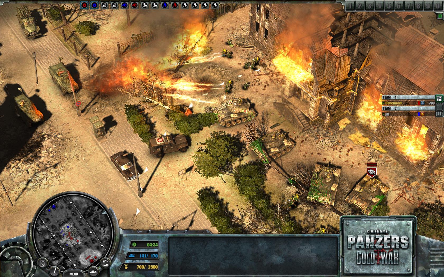 Codename Panzers: Cold War Screenshot 1