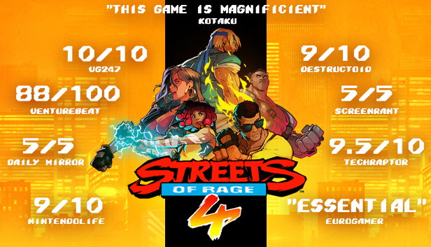 Streets of Rage 4 + Online Fix (Multiplayer)