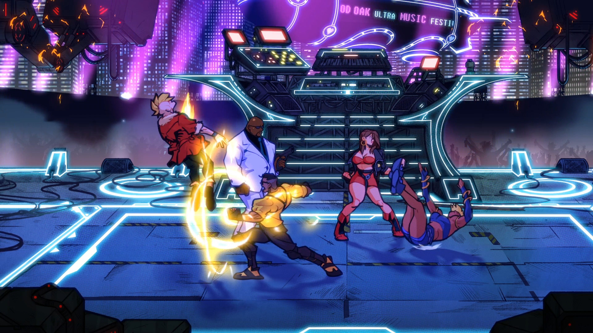 Streets of Rage 4 Images