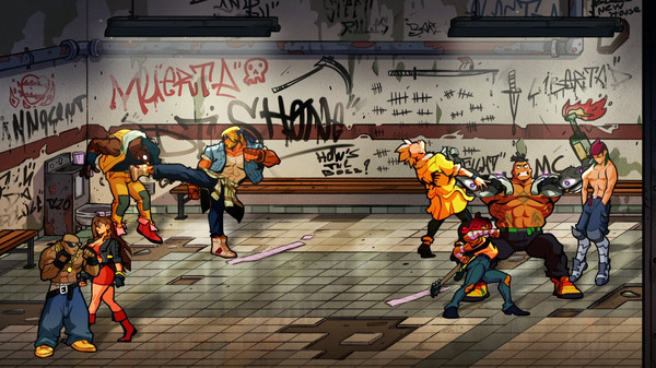 скриншот Streets of Rage 4 4