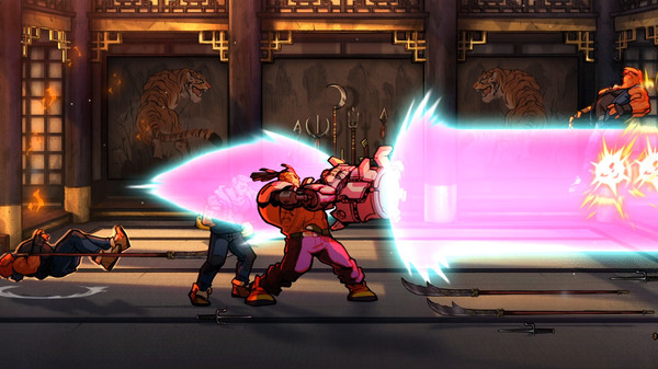 Скриншот №4 к Streets of Rage 4