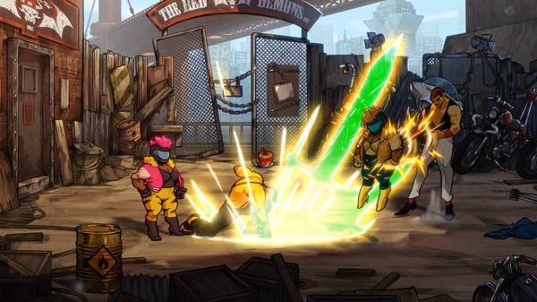 скриншот Streets of Rage 4 2