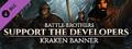 Support the Developers & Kraken Banner