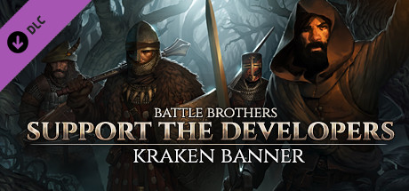 Battle Brothers - Support the Developers & Kraken Banner