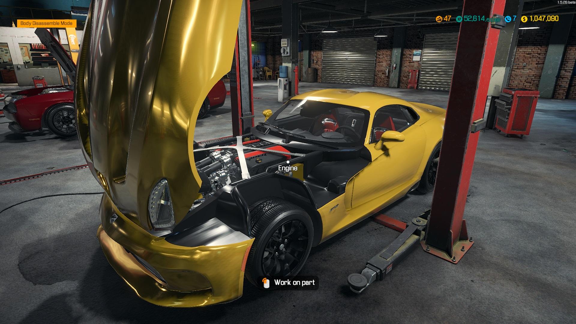 car mechanic simulator 2018 update log