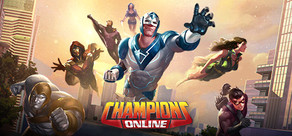 Champions Online cover art