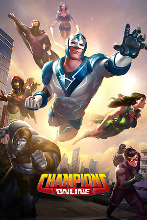 Champions Online poster image on Steam Backlog