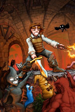 Dungeons of Dredmor poster image on Steam Backlog