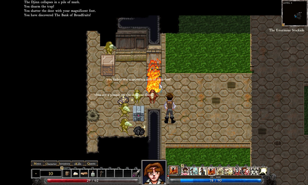 50% price on feet images of many styles Dungeons of Dredmor