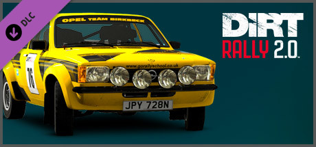 DiRT Rally 2.0 - Opel Kadett  C GT/E