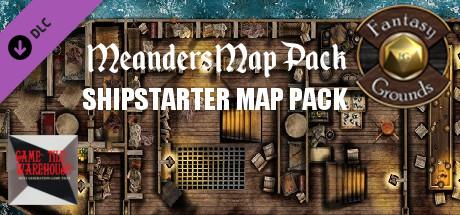 Fantasy Grounds - Meander's Map Pack: Shipstarter Ultimate Pack (Map Pack)