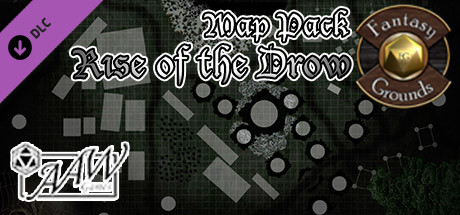 Fantasy Grounds - Rise of the Drow Map Pack (Map Pack)