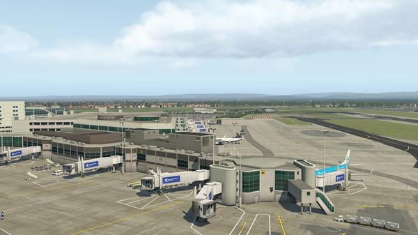X-Plane 11 - Add-on: Aerosoft - Airport Manchester (DLC)
