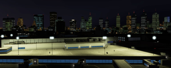 X-Plane 11 - Add-on: Skyline Simulations -  CYTZ - Billy Bishop Toronto City Airport (DLC)