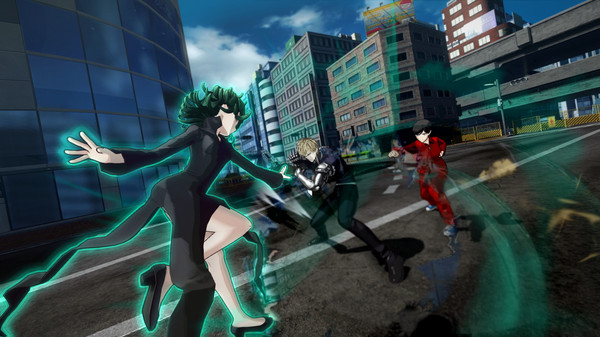 скриншот ONE PUNCH MAN: A HERO NOBODY KNOWS 2